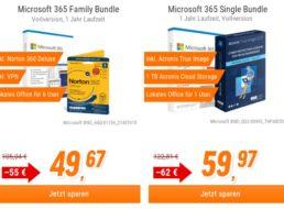 NBB: Microsoft 365 Family Bundle mit Norton 360 Deluxe für 49,67 Euro