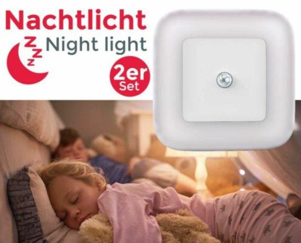 Ebay: Doppelpack Nachtlichter von B.K. Licht für 13,99 Euro frei Haus