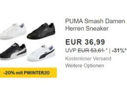 Puma: Sneaker für 29,59 Euro frei Haus dank Ebay-Gutschein