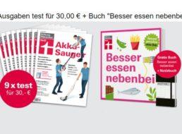 """Test: Neun Ausgaben plus Buch """"Besser essen nebenbei"""" für 30 Euro"""