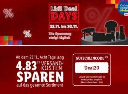 Lidl: Deal-Days mit Gratis-Versand ab 59 Euro Warenwert