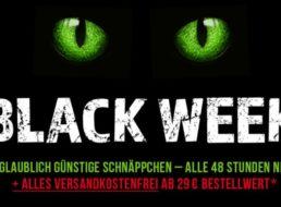 Völkner: Black Week mit Gratis-Versand ab 29 Euro Warenwert
