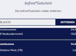 Bofrost: 17 Tiefkühlprodukte ohne Geschmacksverstärker für 34 Euro frei Haus
