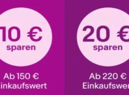 """Ebay: """"Cyber Monday"""" mit bis zu 30 Euro Rabatt"""