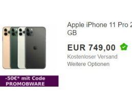 Ebay: iPhone 11 mit 256 GByte als B-Ware für 699 Euro frei Haus