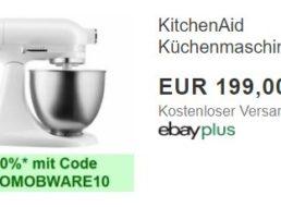 Ebay: Kitchenaid-Küchemaschine als B-Ware für 179,10 Euro frei Haus