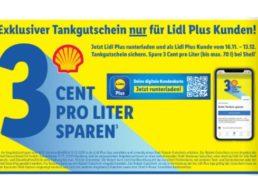 Lidl Plus: Drei Cent Tank-Rabatt bei Shell pro Liter