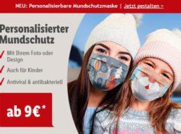 Lidl: Mundschutz mit eigenem Foto ab 9 Euro mit Versand