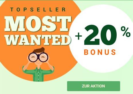 Momox: 20 Prozent Prämie beim Ankauf von Bestsellern bis Mittwoch