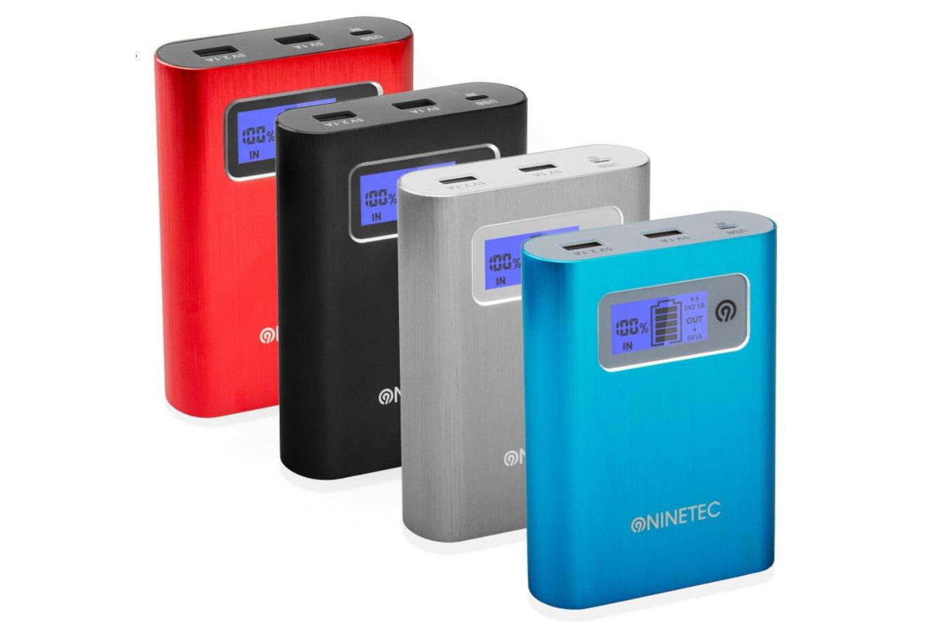 Ebay: Ninetec-Powerbank 13.400 mAh und 32 GByte Speicher für 12,99 Euro