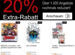 Terrashop: 20 Prozent Rabatt auf bereits reduzierte Bücher und mehr