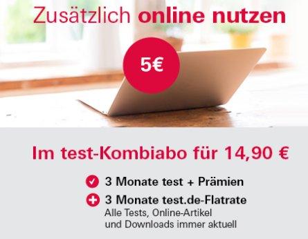 """Gratis: """"Test.de""""-Flatrate zum Dreimonats-Abo mit CD für 14,90 Euro"""