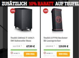 Teufel: Sale beim Dealclub mit B-Ware ab 61,19 Euro