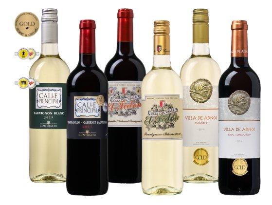"""Weinvorteil: """"Spanische Medaillenweine"""" für 29,99 Euro frei Haus"""