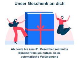 Gratis: Premium-Zugang zu Blinkist mit automatischem Ende zu Silvester