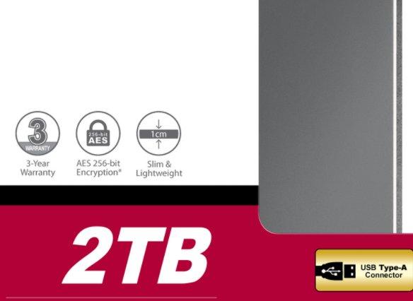 Ebay: Transcend StoreJet 25C3 mit zwei TByte für 55,99 Euro