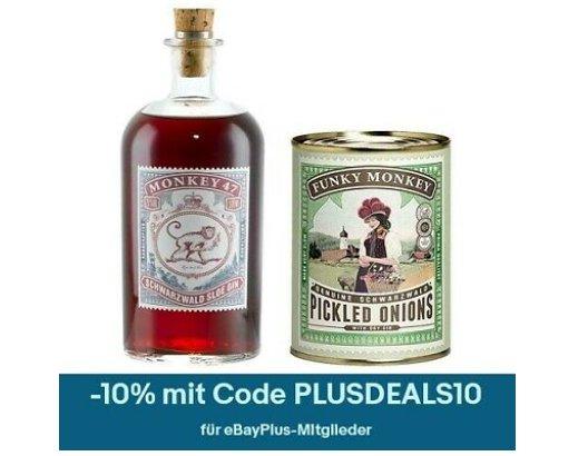 Ebay: Gin-Bundle mit Silberzwiebeln für 29,61 Euro frei Haus