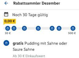 Lidl Plus: 5 – 10 Euro Rabatt über die App bis Ende Dezember