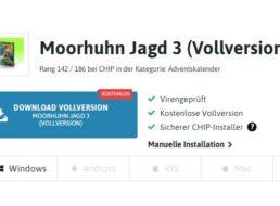 """Gratis: """"Moorhuhn Jagd 3"""" im Chip-Adventskalender"""