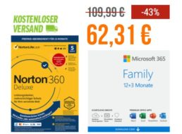 "NBB: 15 Monate ""Office 365 Family"" für 62,31 Euro"
