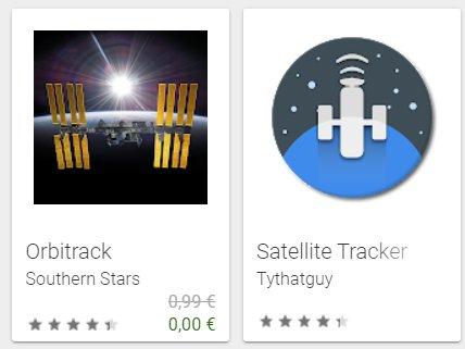 Gratis: App Orbitrack für kurze Zeit zum Nulltarif verfügbar