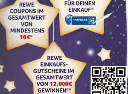 """Rewe-Adventskalender: Verwirrung um das """"10 Euro""""-Versprechen"""