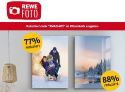 Rewe Foto: Leinwandbilder ab 7,90 Euro, Acrlyglas ab 6,90 Euro