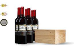 Weinvorteil: 6er-Paket Rotwein in Holzkiste ab 24,99 Euro