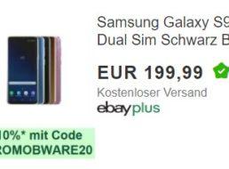 """Ebay: """"Samsung Galaxy S9+ Dual"""" als B-Ware für 179,99 Euro"""