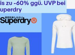 Superdry: Sale bei Ebay mit Klamotten ab fünf Euro