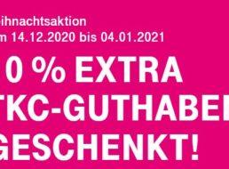Telekom: Telefonkarte Comfort wieder mit 10 Prozent Extra-Guthaben