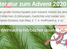 Gratis: Weihnachts-Hörbücher bei Vorleser.net zum kostenlosen Download