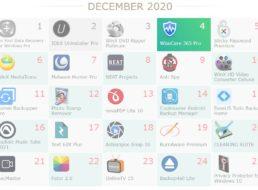 Gratis: 25 Vollversionen beim WinxDVD-Adventskalender 2020