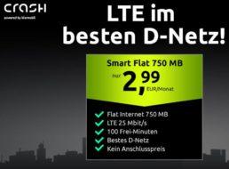 Telekom-Netz: 750 MByte Daten und 100 Freiminuten für 2,99 Euro