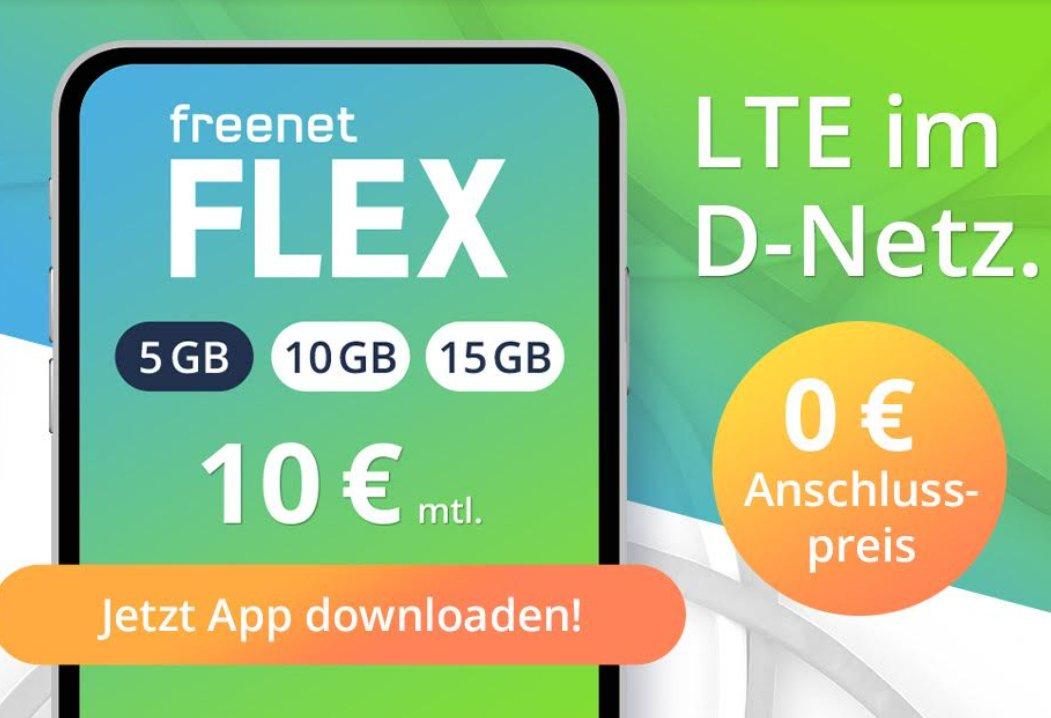 Knaller: Freenet Flex bis zum 6. Februar komplett gratis nutzen