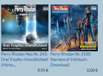 """Gratis: Hörbuch """"Perry Rhodan Nr. 3100: Sternenruf"""" mit 3:45 Stunden Spielzeit"""