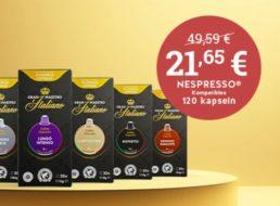 Kaffeevorteil: Gratis-Versand ab 25 Euro Warenwert, Kapseln ab 8,7 Cent