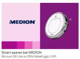 Medion: Sale bei Ebay mit Schnäppchen ab 17,99 Euro frei Haus