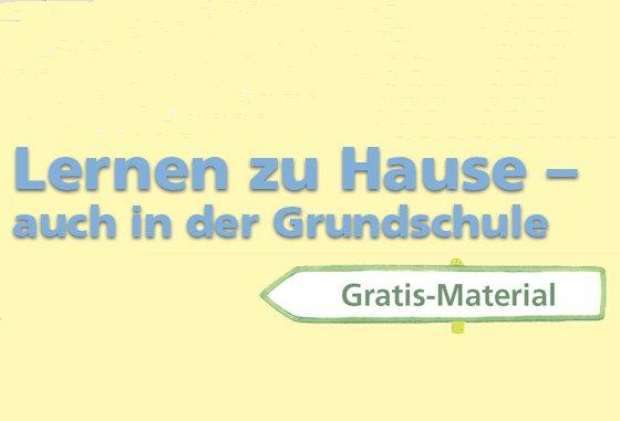 Gratis: Lernmaterial für Grundschulen beim Mildenberger Verlag