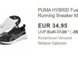 """Ebay: """"Puma Hybrid Running Sneaker"""" für 34,95 Euro frei Haus"""
