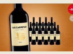 Vinos: 16 goldprämierte Rotweine für 42,89 Euro frei Haus