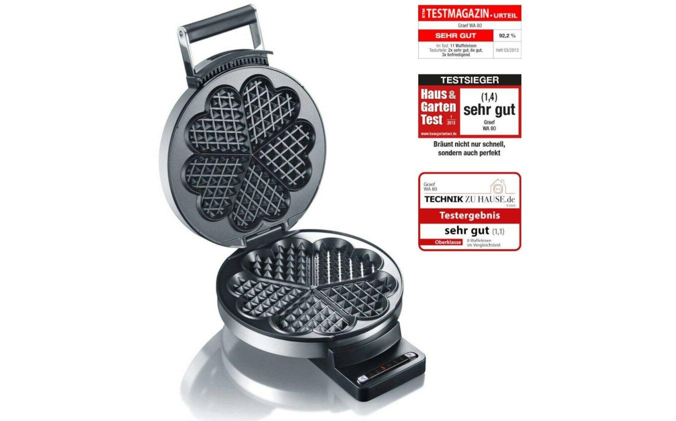 """Ebay: Waffeleisen """"Graef WA80"""" mit Gehäusekratzern für 59,90 Euro"""