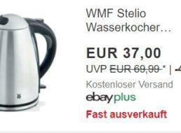 WMF: Wasserkocher mit 2400 Watt für 29,60 Euro frei Haus