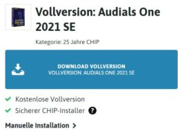 "Gratis: ""Audials One 2021 SE"" via Chip zum Nulltarif"
