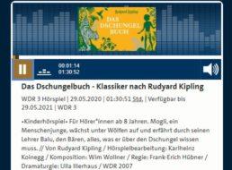 """Gratis: Hörspiel """"Das Dschungelbuch"""" zum kostenlosen Download"""