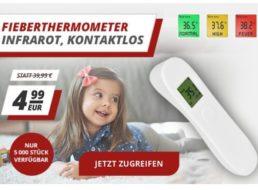 Druckerzubehoer.de: Infrarot-Fieberthermometer für 4,99 Euro