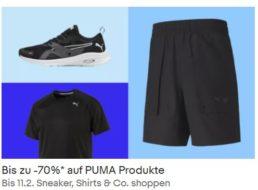 Puma: Sale bei Ebay mit bis zu 70 Prozent Rabatt