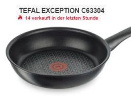 Ebay: Tefal-Pfanne Exception C63304 für 19,99 Euro frei Haus
