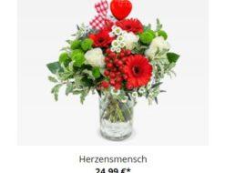 """Valentinstag: Strauß """"Herzensmensch"""" für 25,98 Euro mit Versand"""