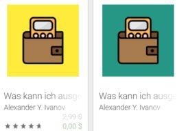 """Gratis: App """"Konstenkontrolle Premium"""" für 0 statt 2,99 Euro"""